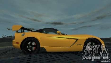 Dodge Viper SRT-10 ACR 2009 para GTA 4 left
