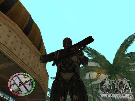 Armas exóticas de Crysis 2 para GTA San Andreas séptima pantalla