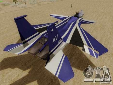 F-15 SMTD para la visión correcta GTA San Andreas