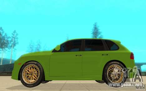 Wild Upgraded Your Cars (v1.0.0) para GTA San Andreas sucesivamente de pantalla