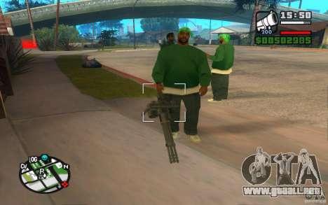 Nuevas armas de pandillas para GTA San Andreas
