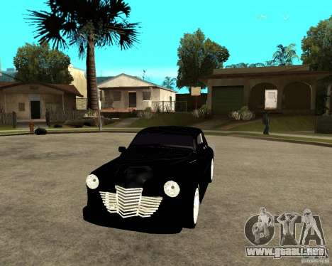 GAZ M20 (ganar) + tuning para GTA San Andreas