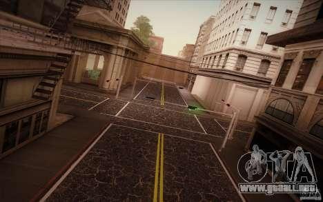 New roads San Fierro para GTA San Andreas sexta pantalla