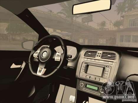 Volkswagen Polo GTI 2011 para la visión correcta GTA San Andreas