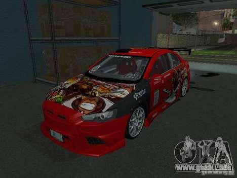 Mitsubishi Evolution X Stock-Tunable para GTA San Andreas