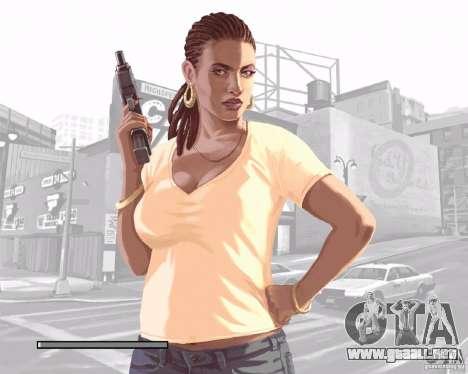 Pantallas de carga en el estilo del GTA IV para GTA San Andreas séptima pantalla