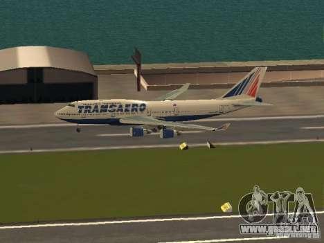 Boeing 747-400 para GTA San Andreas left