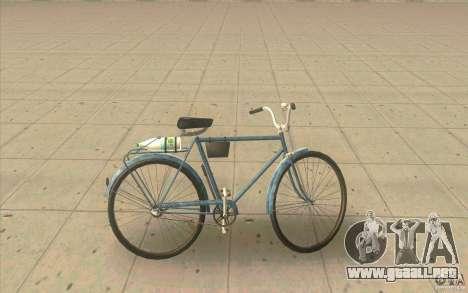 Versión de moto Ural-sucio para GTA San Andreas left
