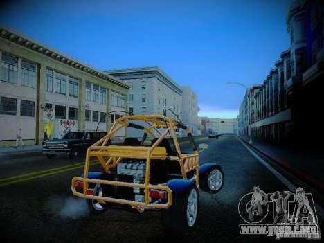 Buggy From Crash Rime 2 para la visión correcta GTA San Andreas
