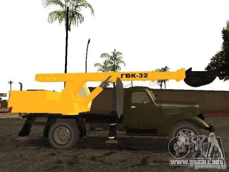 ZIL 157 GVC-32 para GTA San Andreas left