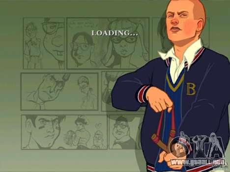 Zakruzočnye pantallas Bully Scholarship Edition para GTA San Andreas