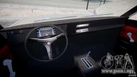 Plymouth Scamp 1971 para GTA 4 vista hacia atrás