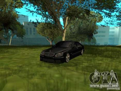 Mercedes Benz AMG S65 para GTA San Andreas