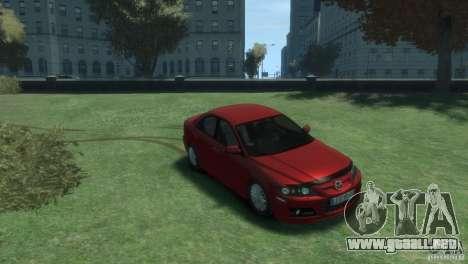 Mazda 6 MPS para GTA 4 visión correcta