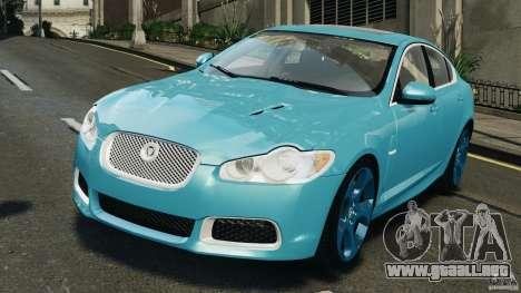 Jaguar XFR 2010 v2.0 para GTA 4