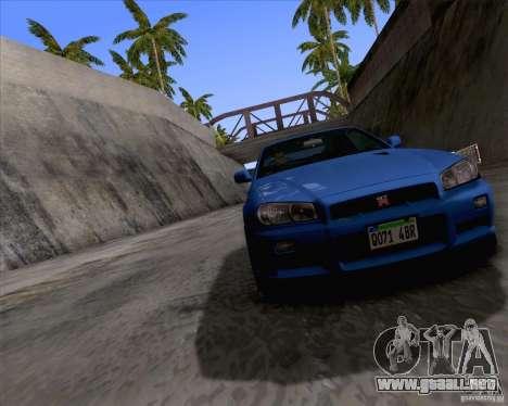 ENBSeries by Sankalol para GTA San Andreas tercera pantalla