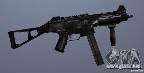 KM UMP45 Counter-Strike 1.5 para GTA San Andreas sucesivamente de pantalla