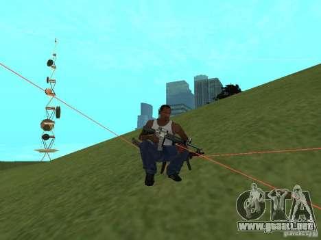 Laser Weapon Pack para GTA San Andreas séptima pantalla