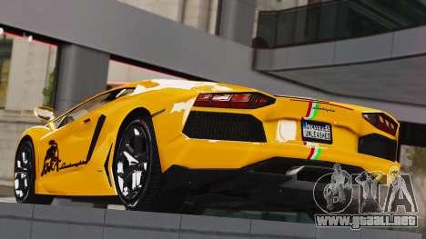 Lamborghini Aventador LP700-4 2012 para GTA 4 left