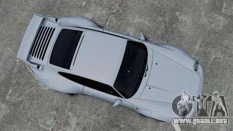 Porsche 993 GT2 1996 para GTA 4 visión correcta