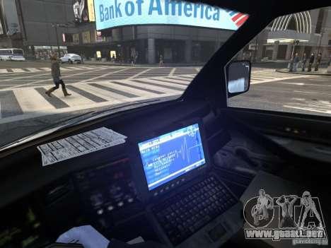 Chevrolet Ambulance FDNY v1.3 para GTA 4 vista lateral