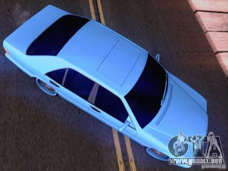 Mercedes-Benz S-Class W140 para GTA San Andreas interior