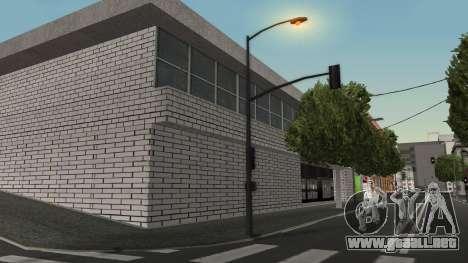 Estructura de garajes y edificios en SF para GTA San Andreas segunda pantalla