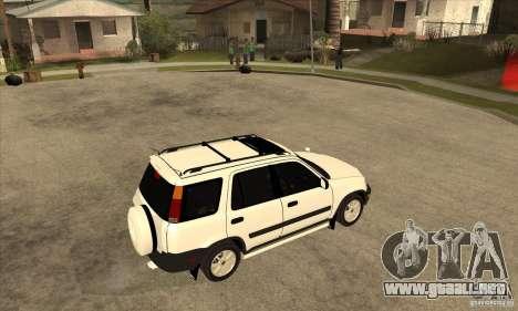 Honda CRV 1997 para la visión correcta GTA San Andreas