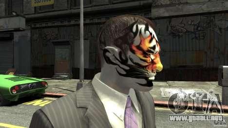 Tatoo Tiger para GTA 4 tercera pantalla