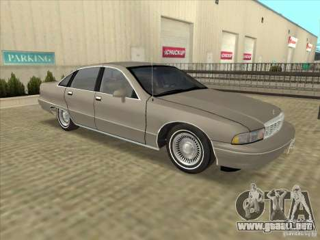 Chevrolet Caprice 1991 para GTA San Andreas left