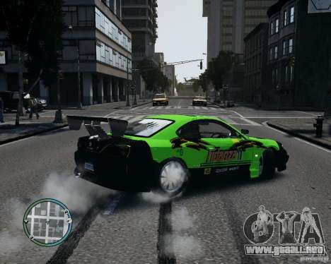 Nissan Silvia para GTA 4 left
