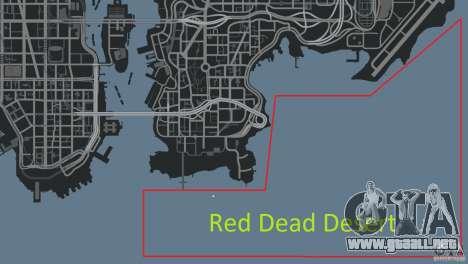 Red Dead Desert 2012 para GTA 4 undécima de pantalla