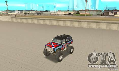 Chevrolet Blazer K5 Monster Skin 1 para GTA San Andreas