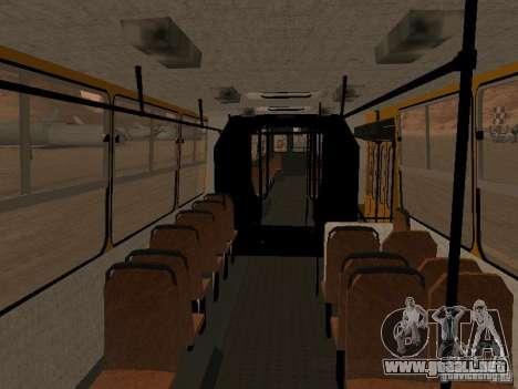 IKARUS 280.33 para visión interna GTA San Andreas