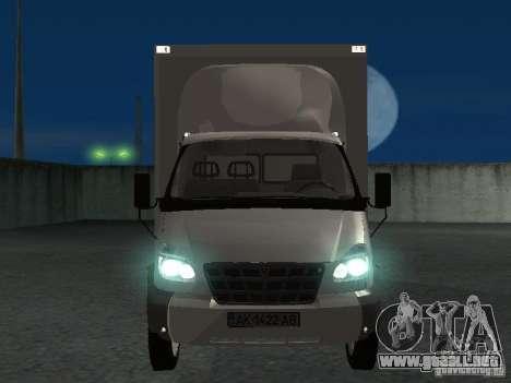 33102 Valday GAZ (largo) para visión interna GTA San Andreas