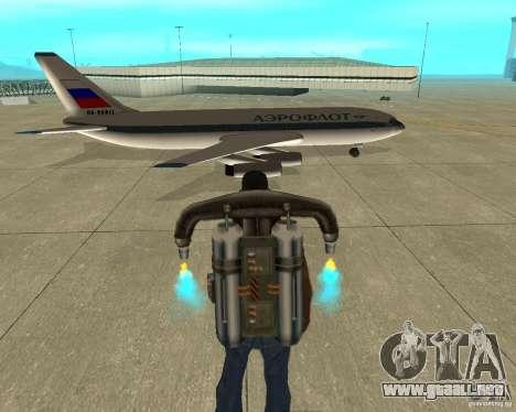 Ilyushin Il-86 para la visión correcta GTA San Andreas