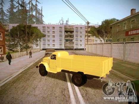 GAS-51A para GTA San Andreas left