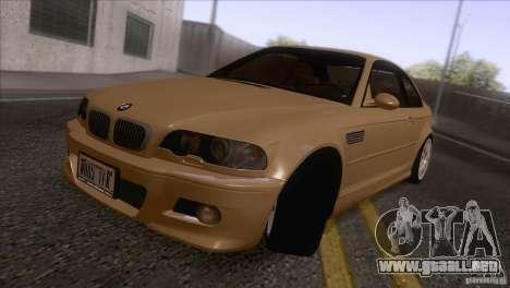 BMW M3 E48 para GTA San Andreas left