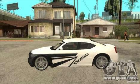 Dodge Charger R/T 2006 para la vista superior GTA San Andreas