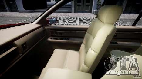Buick Roadmaster Sedan 1996 v 2.0 para GTA 4 vista interior