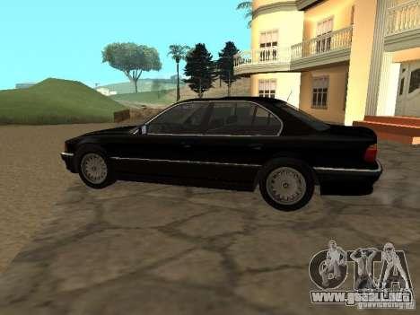 BMW 740I E38 (RUS) para GTA San Andreas left