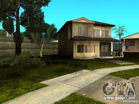New Grove Street TADO edition para GTA San Andreas