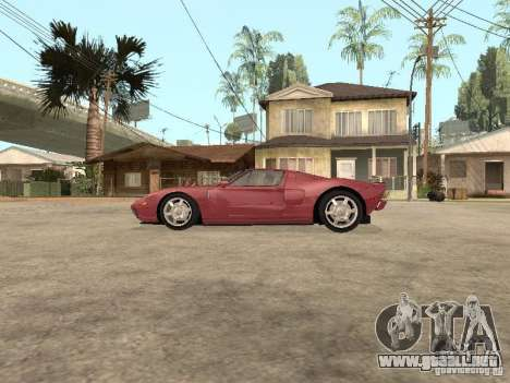 Ford GT 2005 para GTA San Andreas left