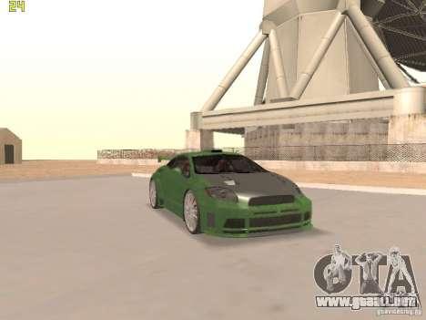 Mitsubishi Eclipse GT NFS-MW para GTA San Andreas interior