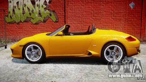 Ruf RK Spyder v0.8Beta para GTA 4 left