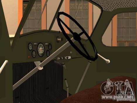ZIL 157 GVC-32 para la visión correcta GTA San Andreas
