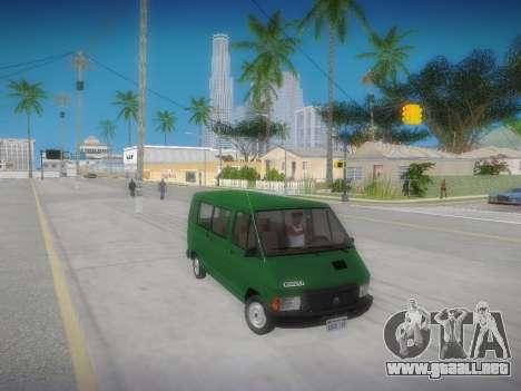 Renault Trafic T1000D Minibus para la visión correcta GTA San Andreas
