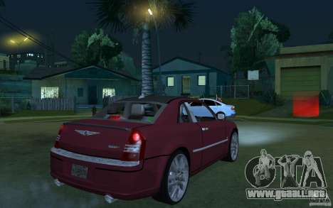 Chrysler 300c Roadster Part2 para la visión correcta GTA San Andreas