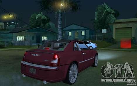 Chrysler 300c Roadster Part2 para GTA San Andreas