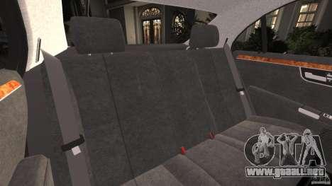 Mercedes-Benz S W221 Wald Black Bison Edition para GTA 4 vista lateral
